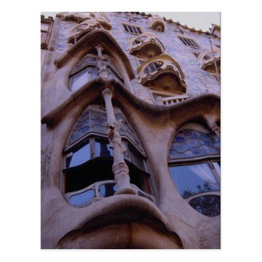 Casa Batllo, Barcelona, Spain Post Cards