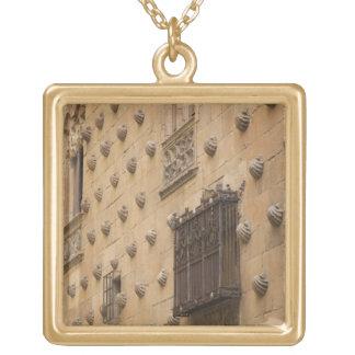 Casa de las Conchas, House of Shells Gold Plated Necklace