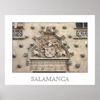 Casa de las Conchas, Salamanca Poster