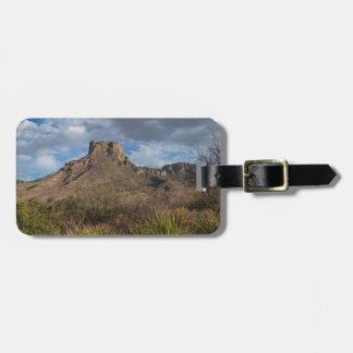 Casa Grande Peak, Chisos Basin, Big Bend Bag Tag