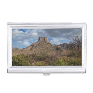 Casa Grande Peak, Chisos Basin, Big Bend Business Card Holder