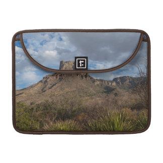 Casa Grande Peak, Chisos Basin, Big Bend MacBook Pro Sleeves