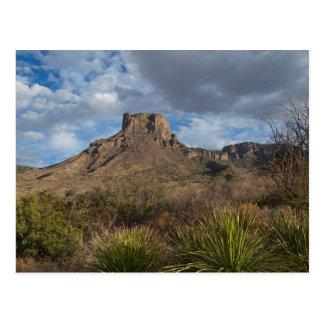 Casa Grande Peak, Chisos Basin, Big Bend Postcard