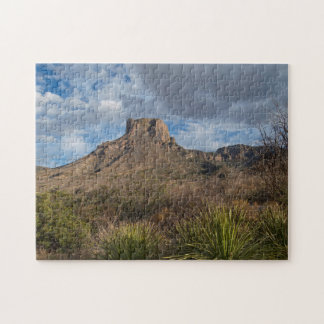 Casa Grande Peak, Chisos Basin, Big Bend Puzzle