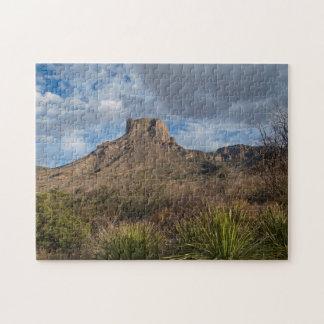 Casa Grande Peak, Chisos Basin, Big Bend Puzzles