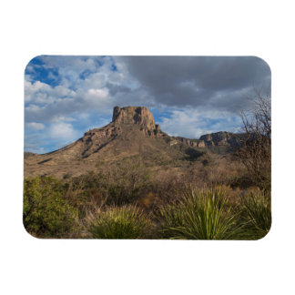 Casa Grande Peak, Chisos Basin, Big Bend Rectangular Photo Magnet