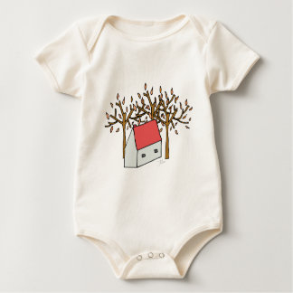 Casa Otoño Baby Bodysuit