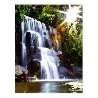 Casa San Javier Waterfall, Mérida Postcard