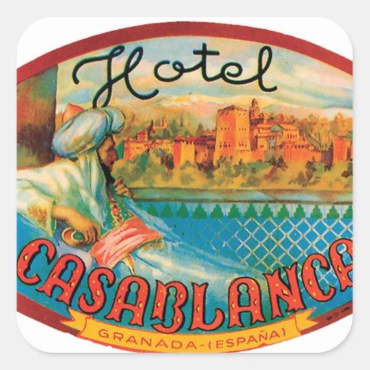 Casablanca Stickers