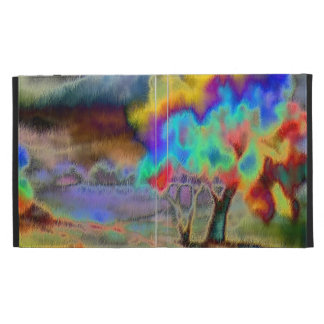 Casable Case with Abstract desing iPad Folio Cases