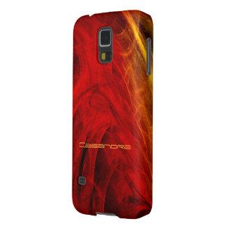Casandra Red Smartphone cover Galaxy S5 Cover
