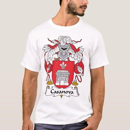 Casanova Family Crest T-Shirt