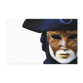 Casanova Venice Carnival Theater Mask Canvas