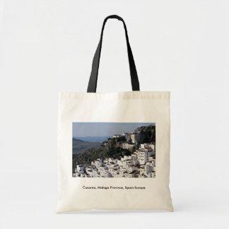 Casarea, Malaga Province, Spain Europe Canvas Bag