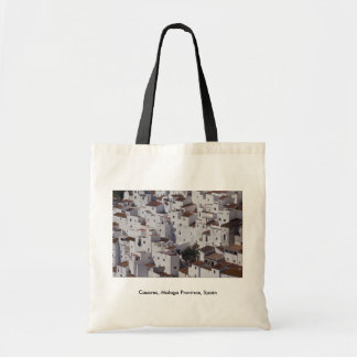 Casares, Malaga Province, Spain Canvas Bag
