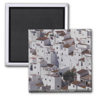 Casares Malaga Province Spain Refrigerator Magnet