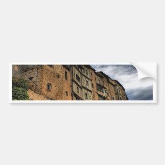 Casas colgadas in Frias, Spain Bumper Sticker