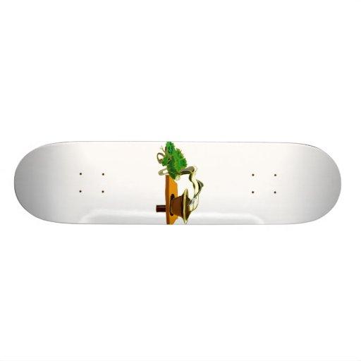 Cascade Bonsai Left Side Graphic Design Skate Boards