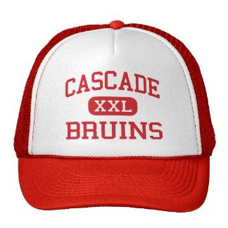 Cascade - Bruins - High - Everett Washington Mesh Hats