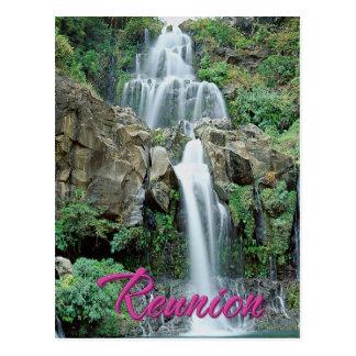 Cascade des Aigrettes Saint Gilles Réunion Postcard