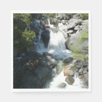 Cascade Falls at Yosemite National Park Paper Serviettes