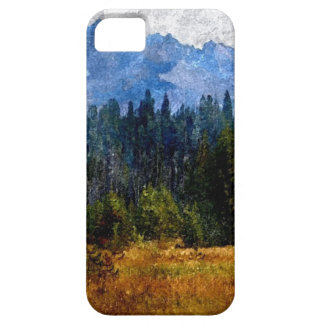 Cascade Mountains Meadow, Oregon iPhone 5 Cases