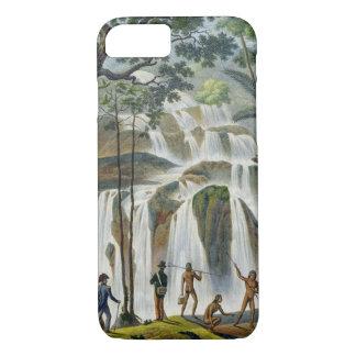Cascade of Port Praslin, New Ireland, from 'Voyage iPhone 8/7 Case