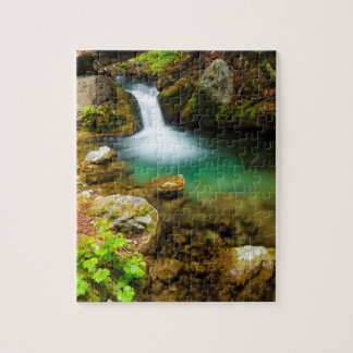 Cascade on Hare Creek, California Puzzle