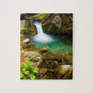 Cascade on Hare Creek, California Puzzles