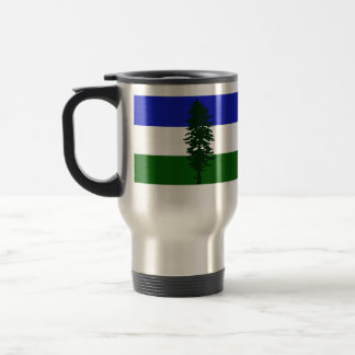 Cascadia, Colombia Political Stainless Steel Travel Mug