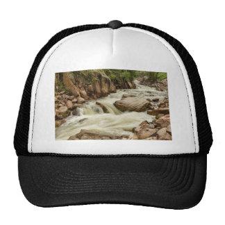 Cascading Colorado Rocky Mountain Stream Cap