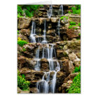 Cascading waterfall card