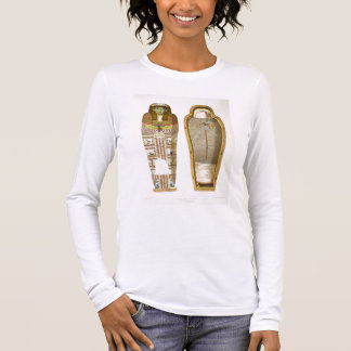 Case and mummy in its cerements from Gizeh, Volume Long Sleeve T-Shirt