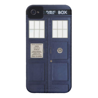 """CASE Blackberry bold """"POLICE BOX """" Case-Mate iPhone 4 Cases"""