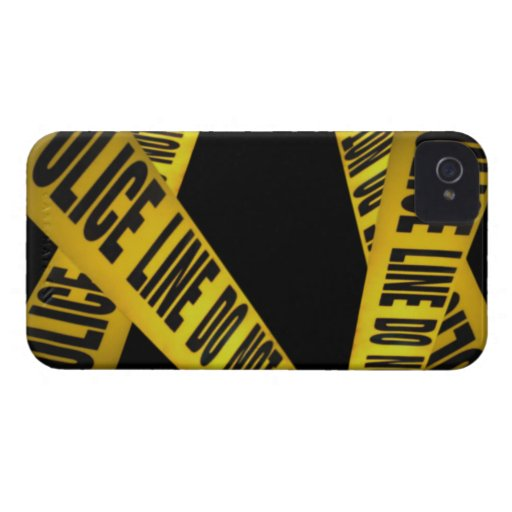 "CASE BLACKBERRY BOLD ""POLICE LINE DO NOT CROSS "" Case-Mate iPhone 4 CASE"