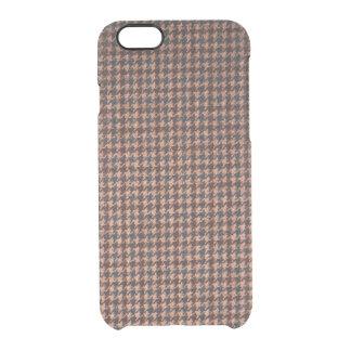 Case: Brown Tweed Fabric iPhone 6 Plus Case