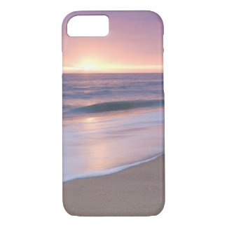 Case: Calm Beach Waves During Sunset iPhone 7 Case