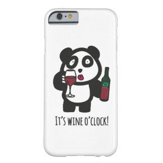 Case - Drinking Panda - It's wine o'clock!