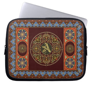 Case For iphone and ipad mini Monogram A Computer Sleeve
