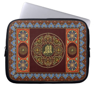 Case For iphone and ipad mini Monogram M Laptop Computer Sleeves
