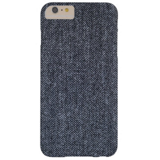 Case: Gray Tweed Fabric Barely There iPhone 6 Plus Case