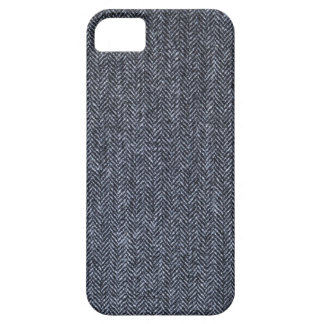 Case: Gray Tweed Fabric iPhone 5 Cover