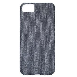 Case: Gray Tweed Fabric iPhone 5C Case