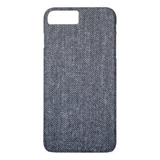 Case: Gray Tweed Fabric iPhone 7 Plus Case