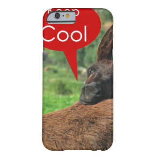 Case: Happy Donkey - Keep Cool Barely There iPhone 6 Case
