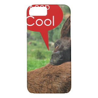 Case: Happy Donkey - Keep Cool iPhone 7 Case