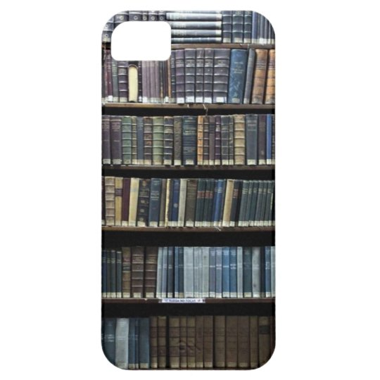"""CASE iPhone 5 """"LIBRARY """""""