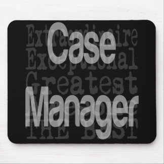 Case Manager Extraordinaire Mouse Mat