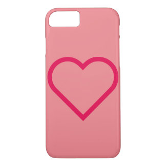 Case-Mate Barely There iPhone 7 Case HEART CASE