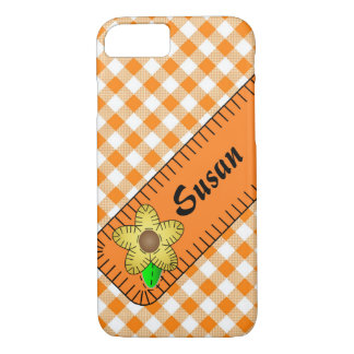 Case-Mate Barely There iPhone 7 Case Orange Floral
